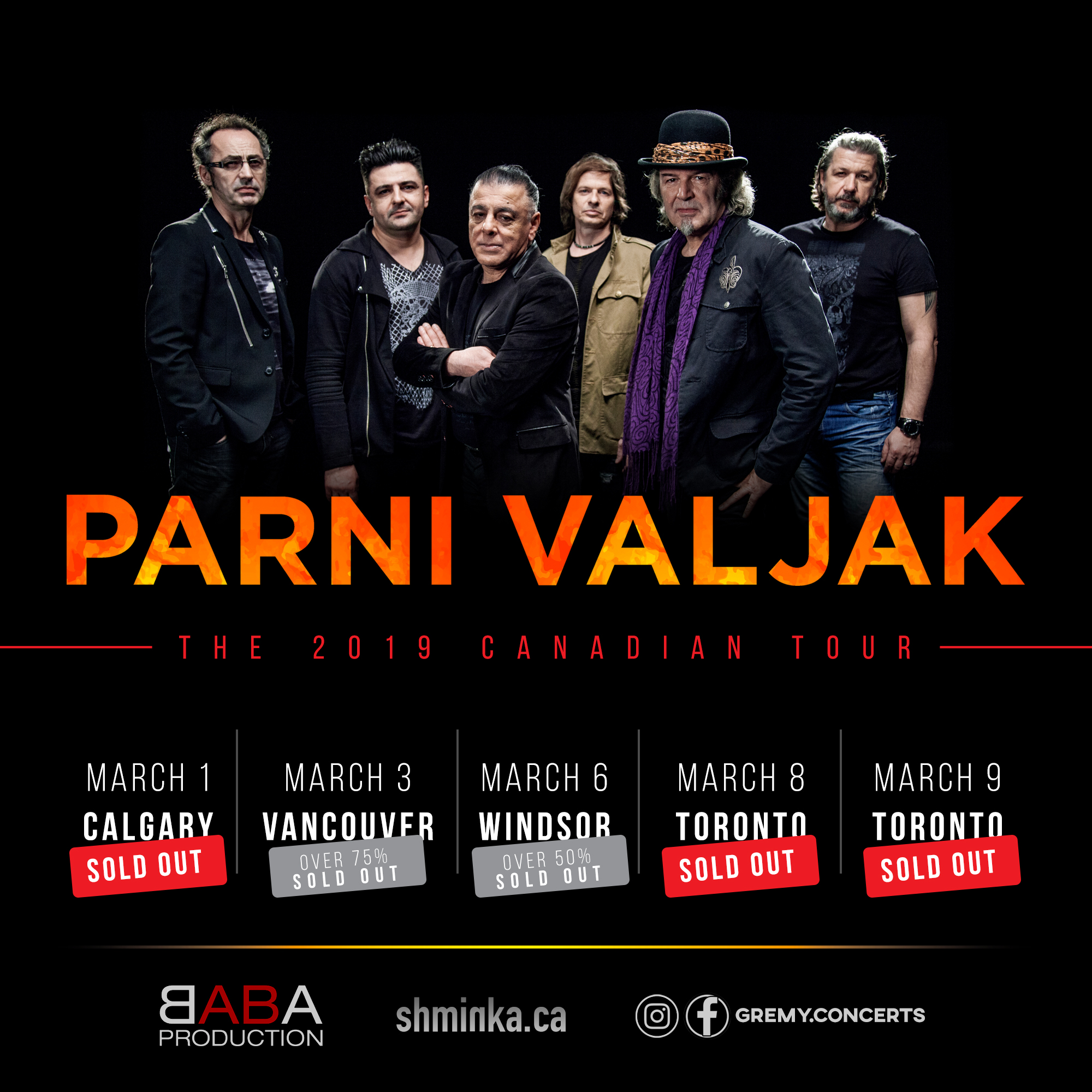 PARNI VALJAK - CANADA - SOLD OUT