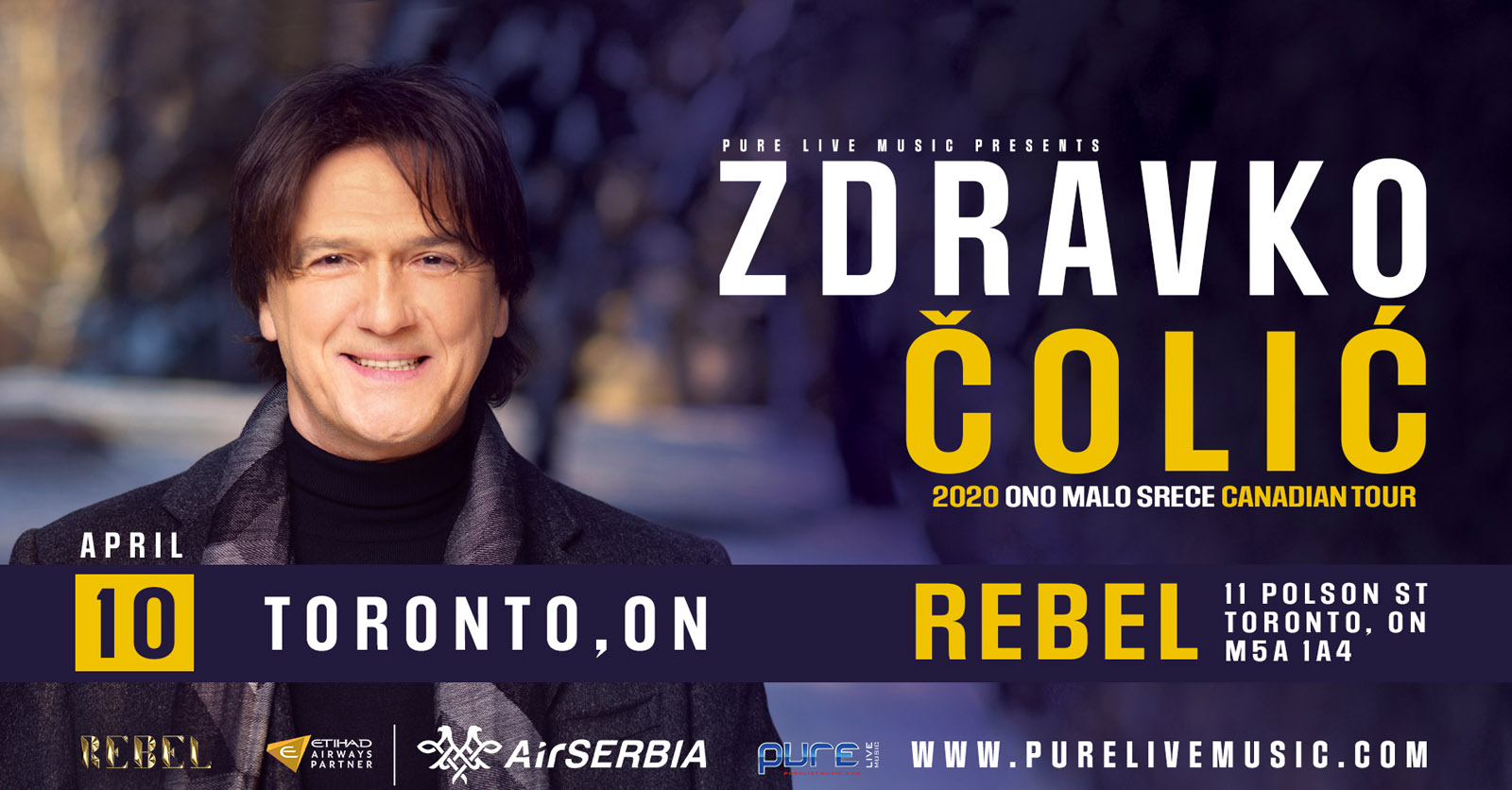 Zdravko Colic - Toronto - 2020