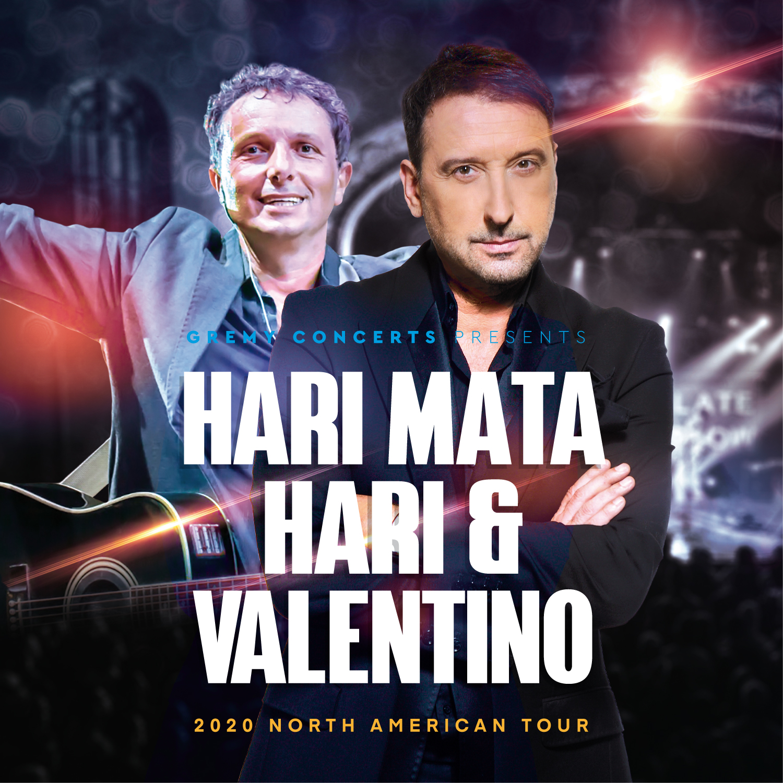 Hari Mata Hari & Valentino | Toronto | MAY 15, 2020